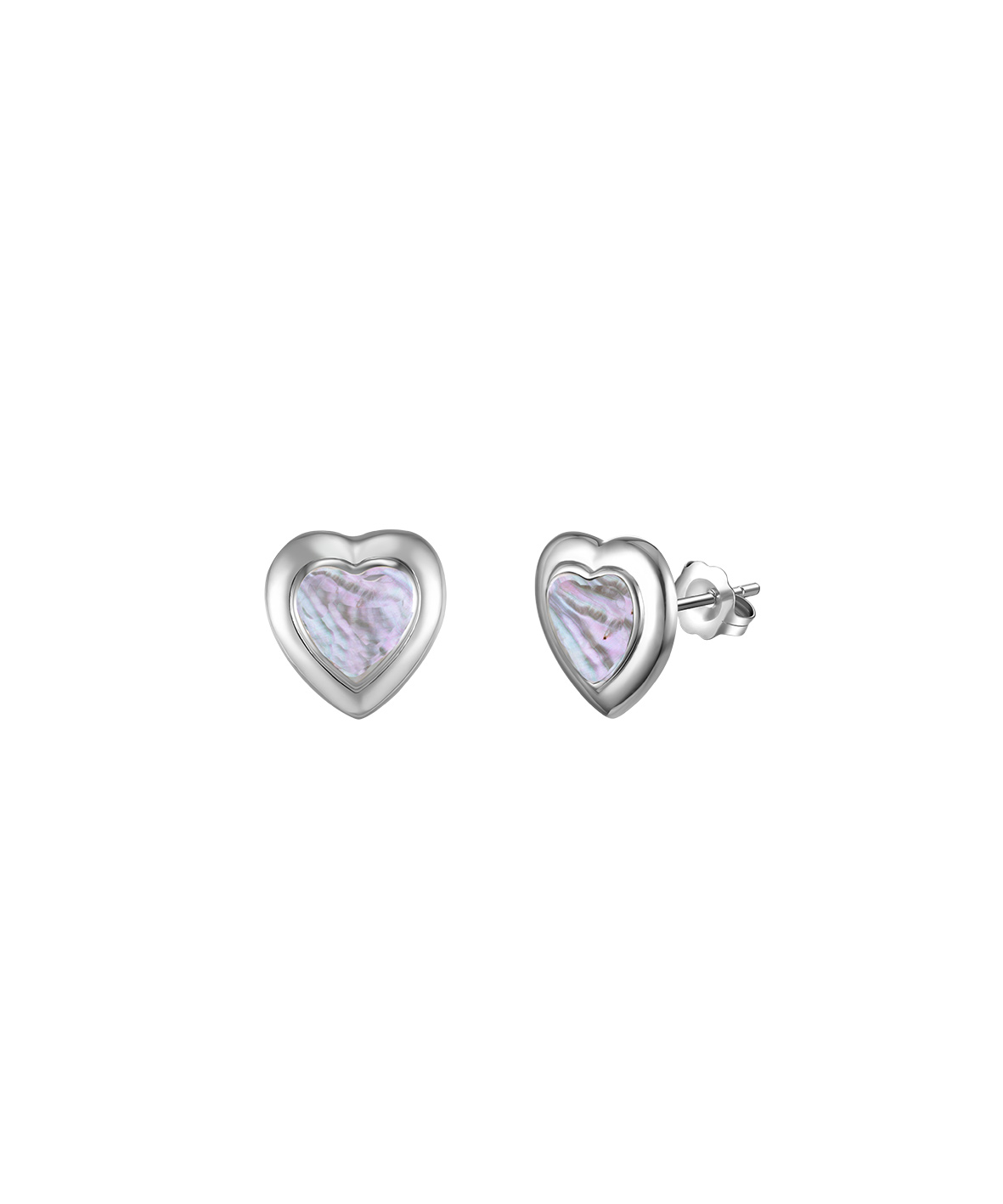 Jersey Ormer Heart Earrings
