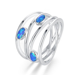 Ovals Opal Ring