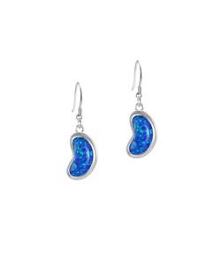 Jersey Bean Opal Drop Earrings