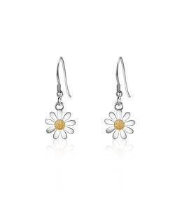 10mm Daisy Drop Earrings
