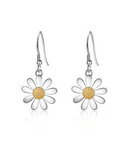 14mm Daisy Drop Earrings