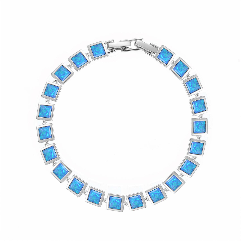 Square Opal Bracelet