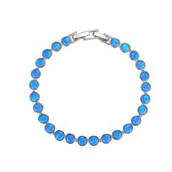 Opal 5mm Circles Bracelet