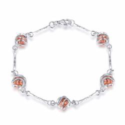 5 Caged Stone Bracelet