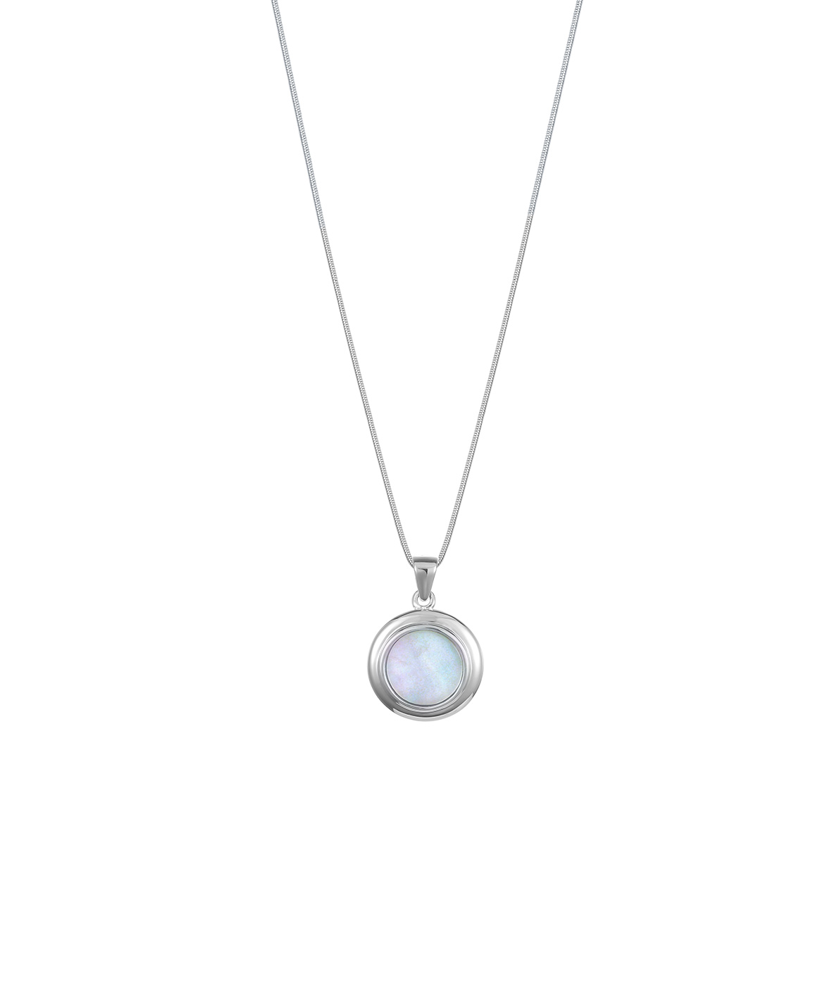 Jersey Ormer Circle Necklace