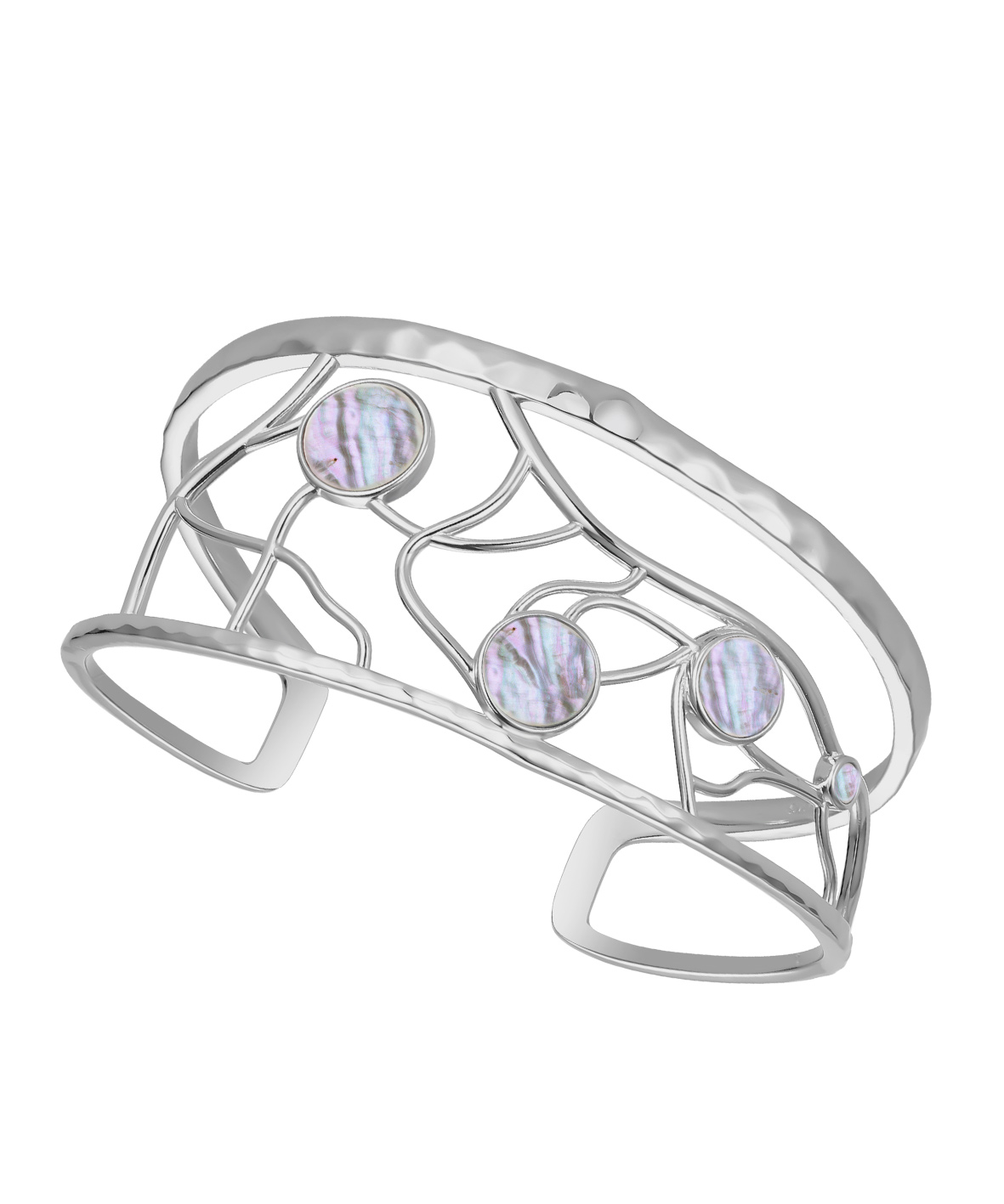 Jersey Ormer Cage Shells Bangle