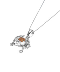 Jersey Crapaud Necklace