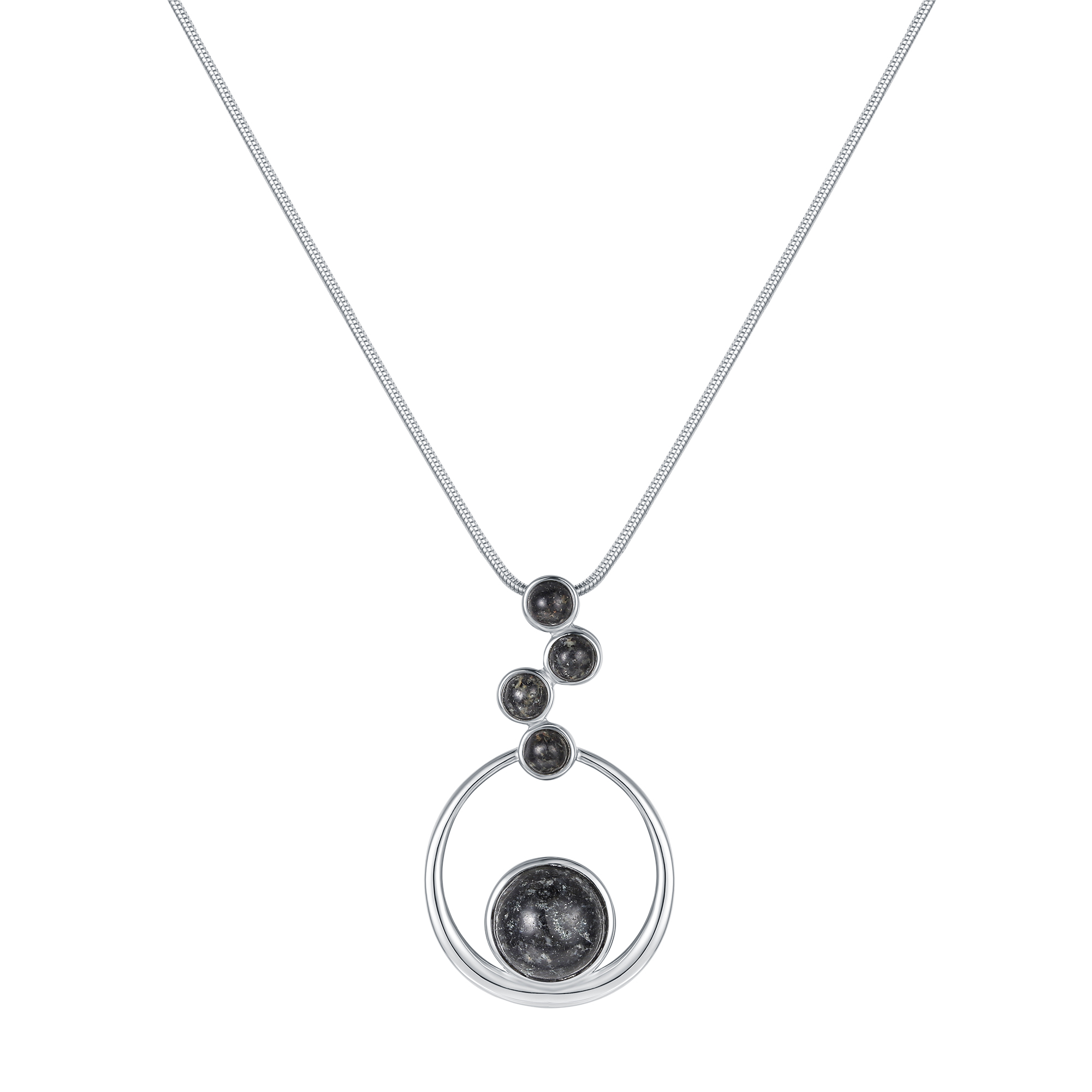 Floating Stone Granite Necklace