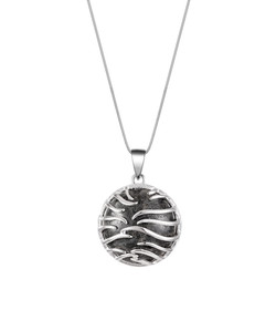 Large Ocean Wave Necklace