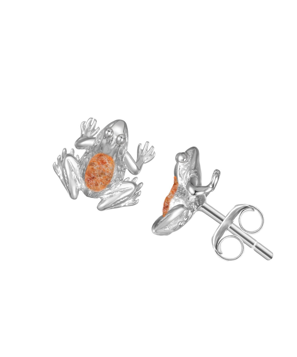 Jersey Crapaud Stud Earrings