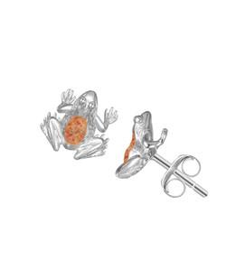 Jersey Crapaud Stud Earrings
