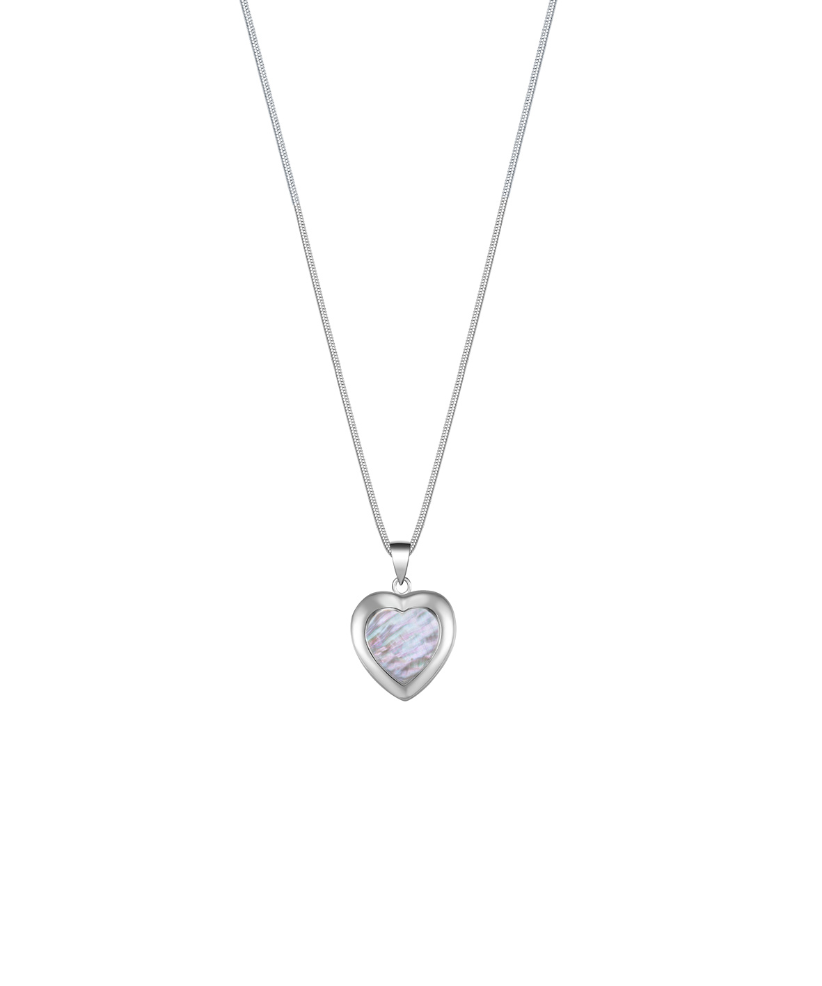 Jersey Ormer Heart Necklace