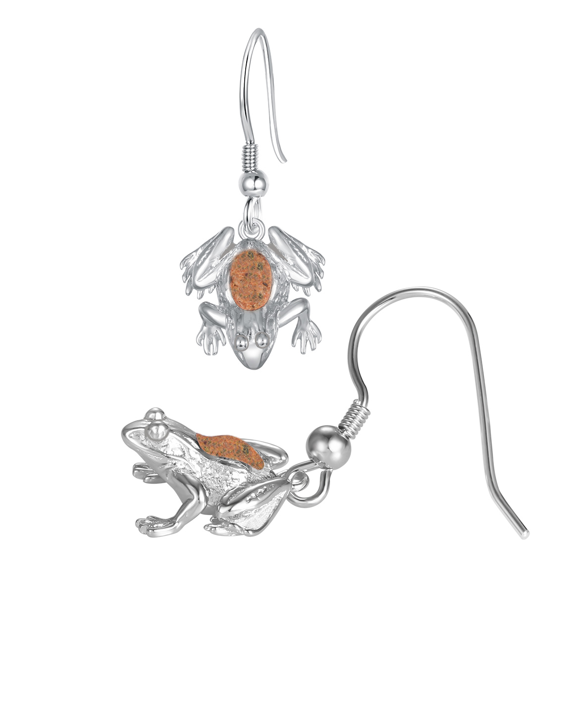 Jersey Crapaud Drop Earrings