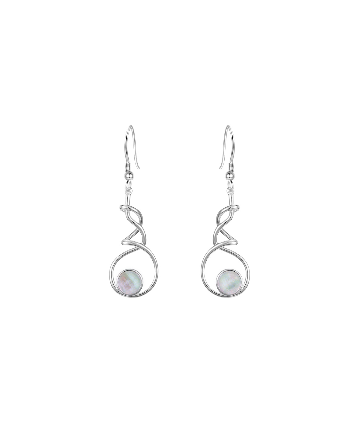 Jersey Ormer Twist Earrings