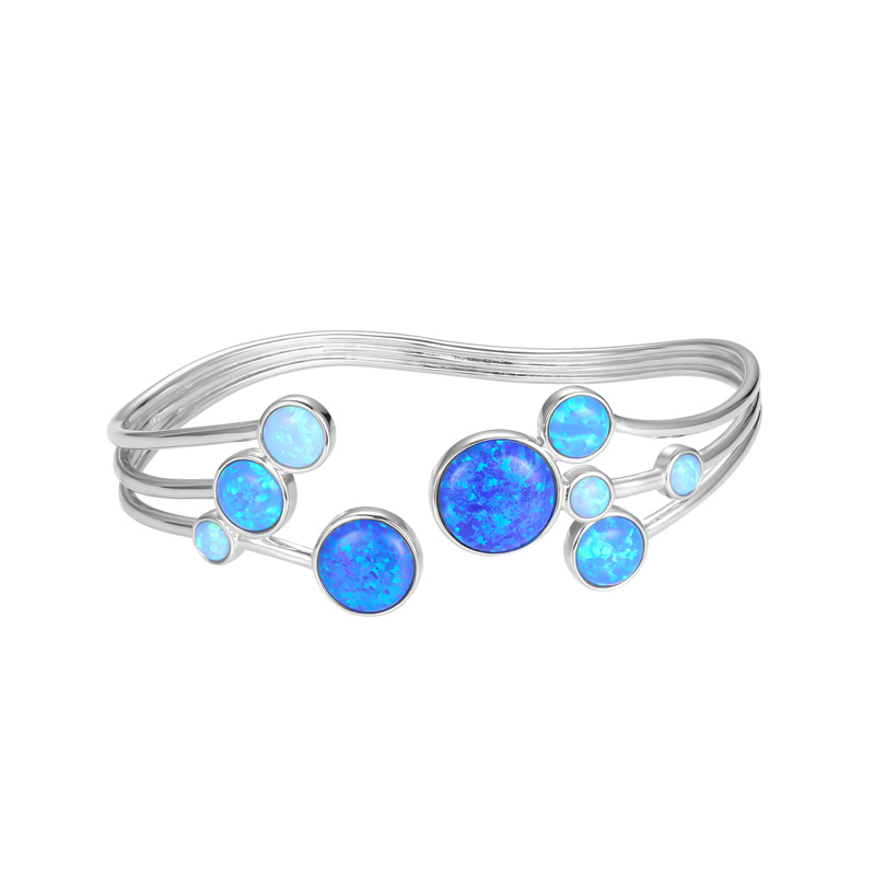 Three Shades of Opal Bangle