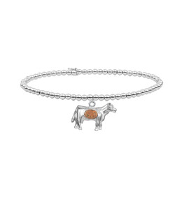 Jersey Cow Charm