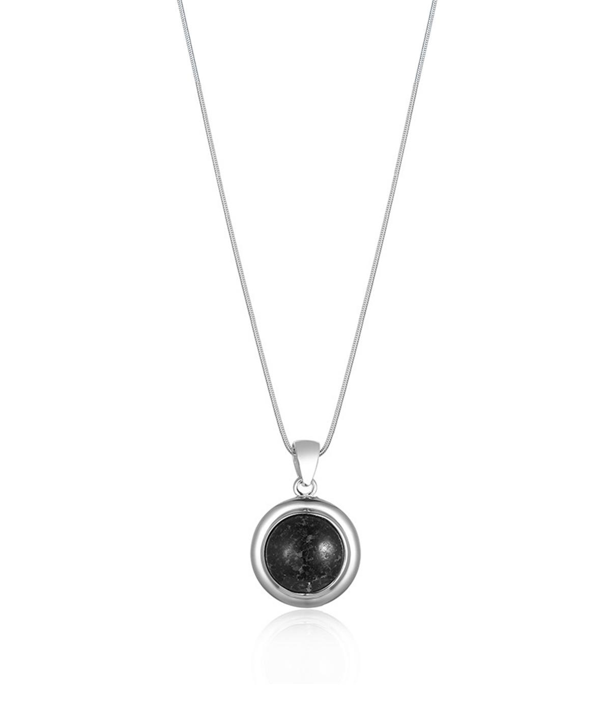 Round Granite Necklace