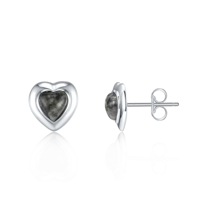Granite Stud Earrings