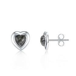 Granite Stud Earrings
