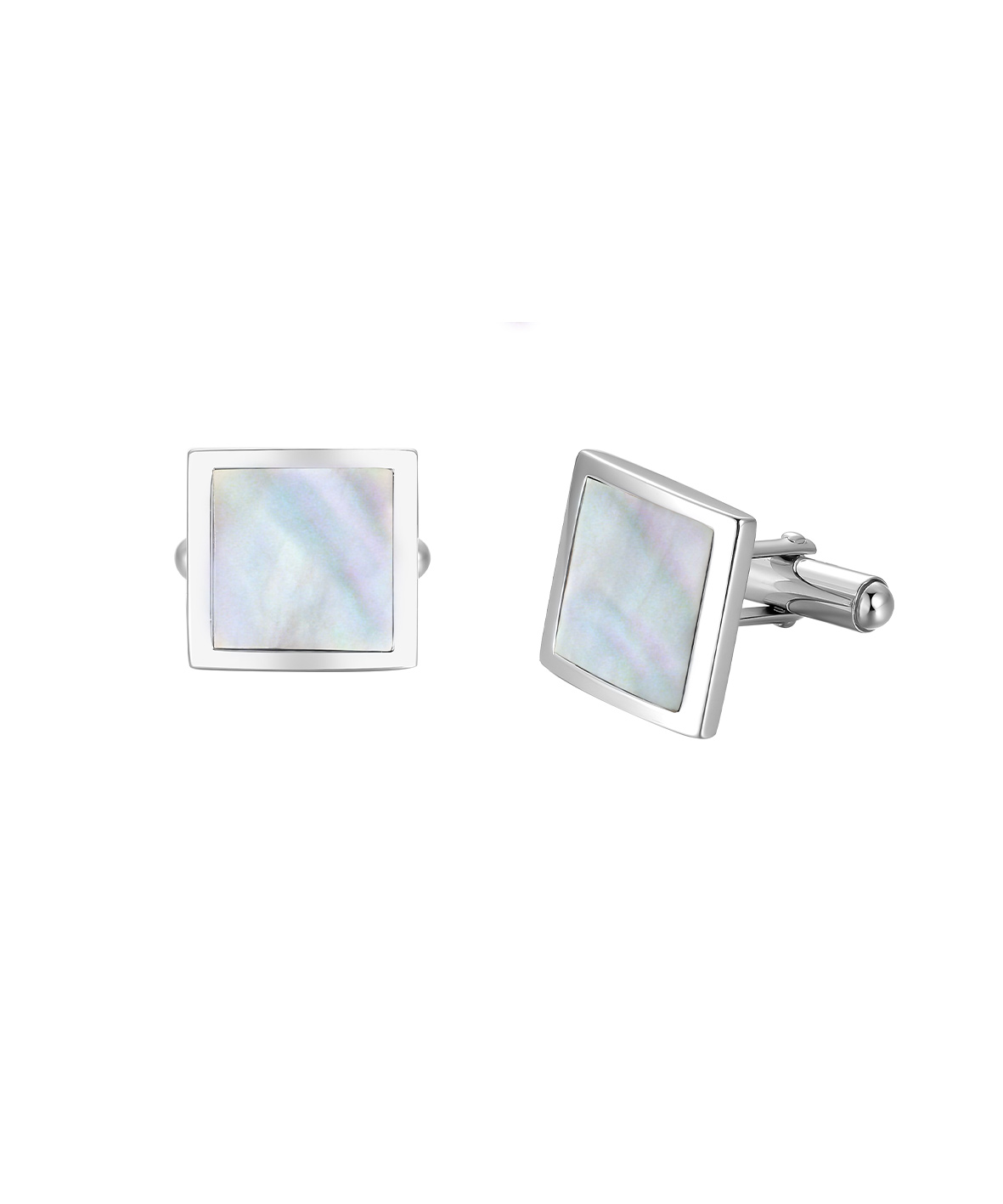 Jersey Ormer Square Cufflinks
