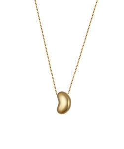 9ct Gold Bean Necklace