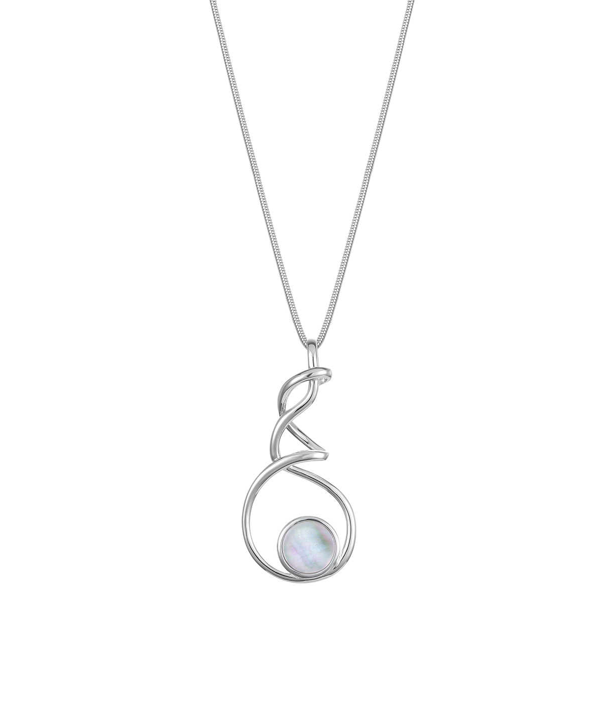 Jersey Ormer Twist Necklace