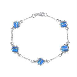 5 Caged Ball Bracelet