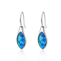 Pointed Opal Earrings