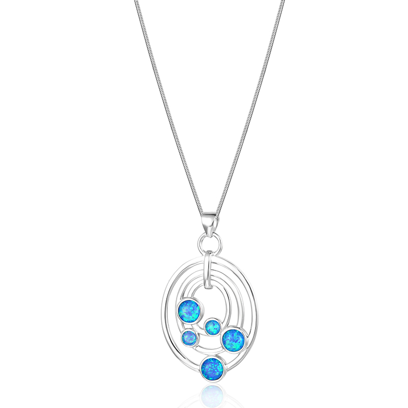 Multi Ovals Necklace