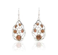 Jersey Granite Stone Maze Earrings