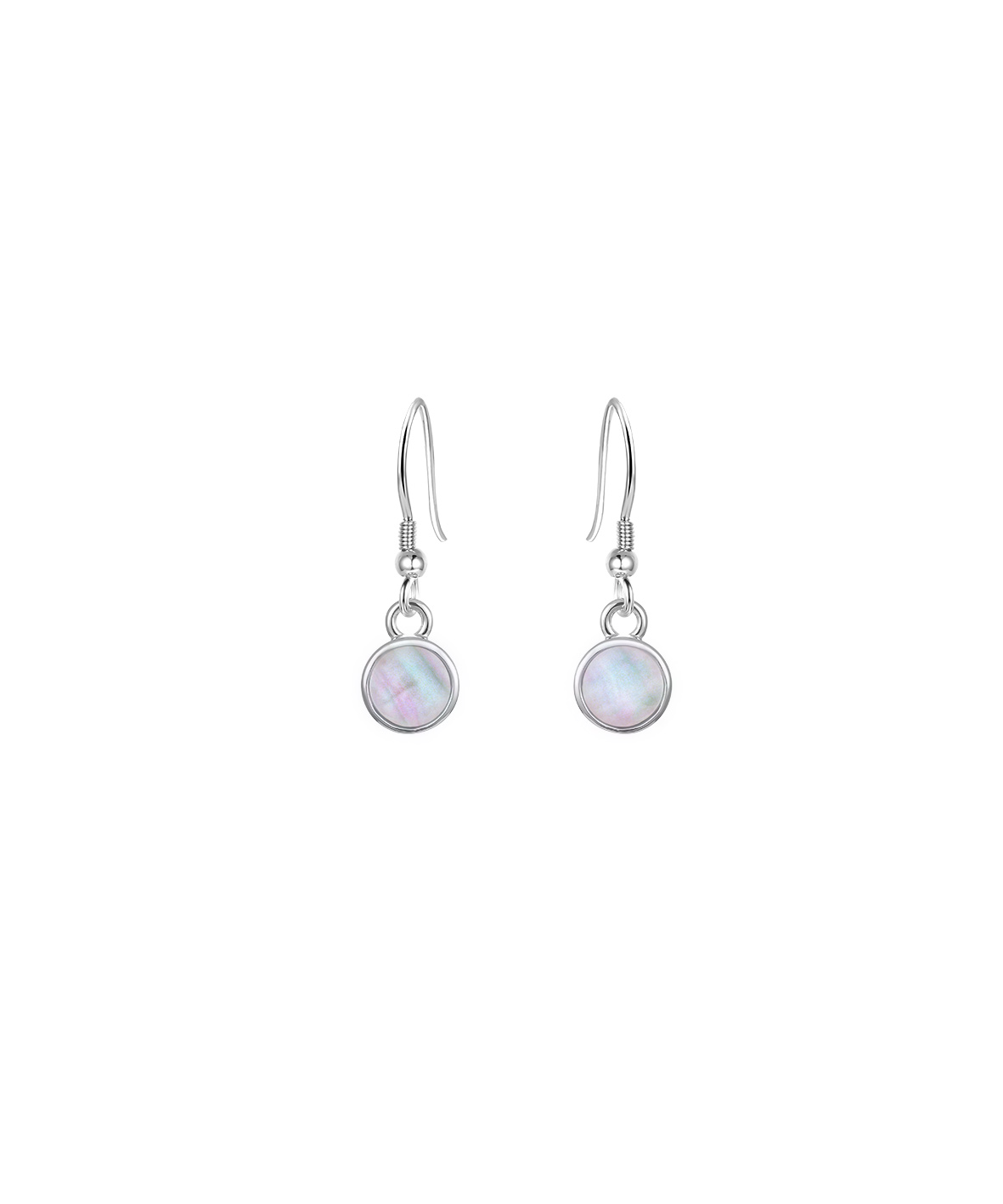 Jersey Ormer Small Droplet Earrings