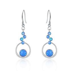 Floating Circles Earrings