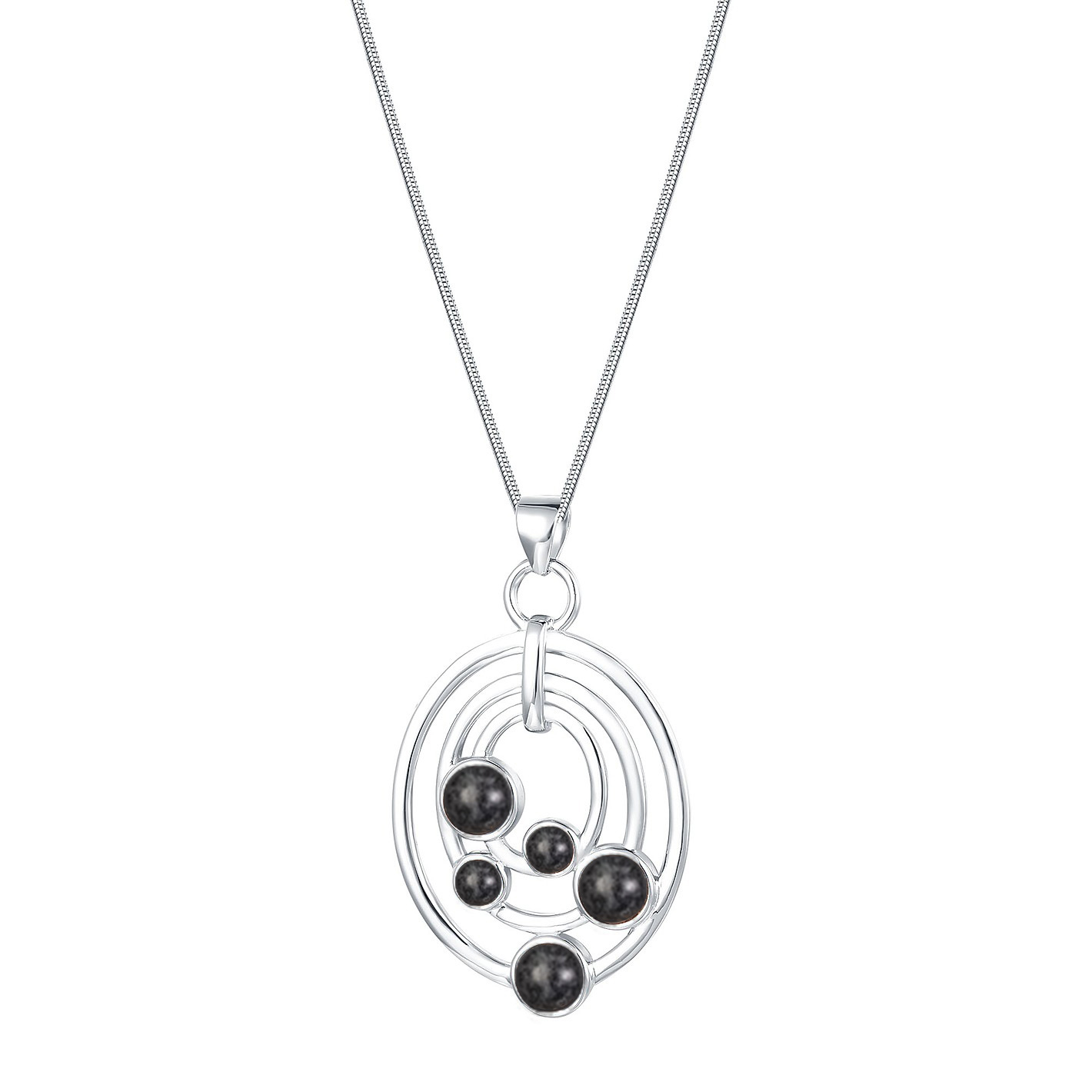 Jersey Granite Ovals Necklace