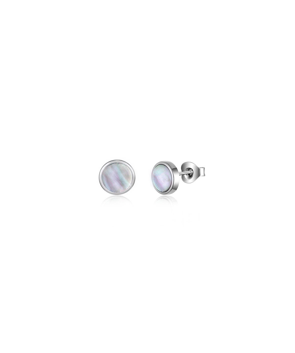 Jersey Ormer Circle Studs