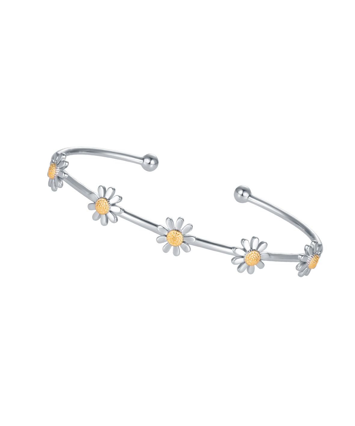 Daisy Wire Bangle