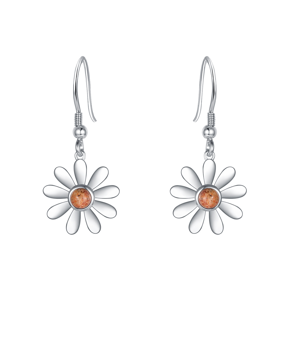 Jersey Granite Daisy Drop Earring