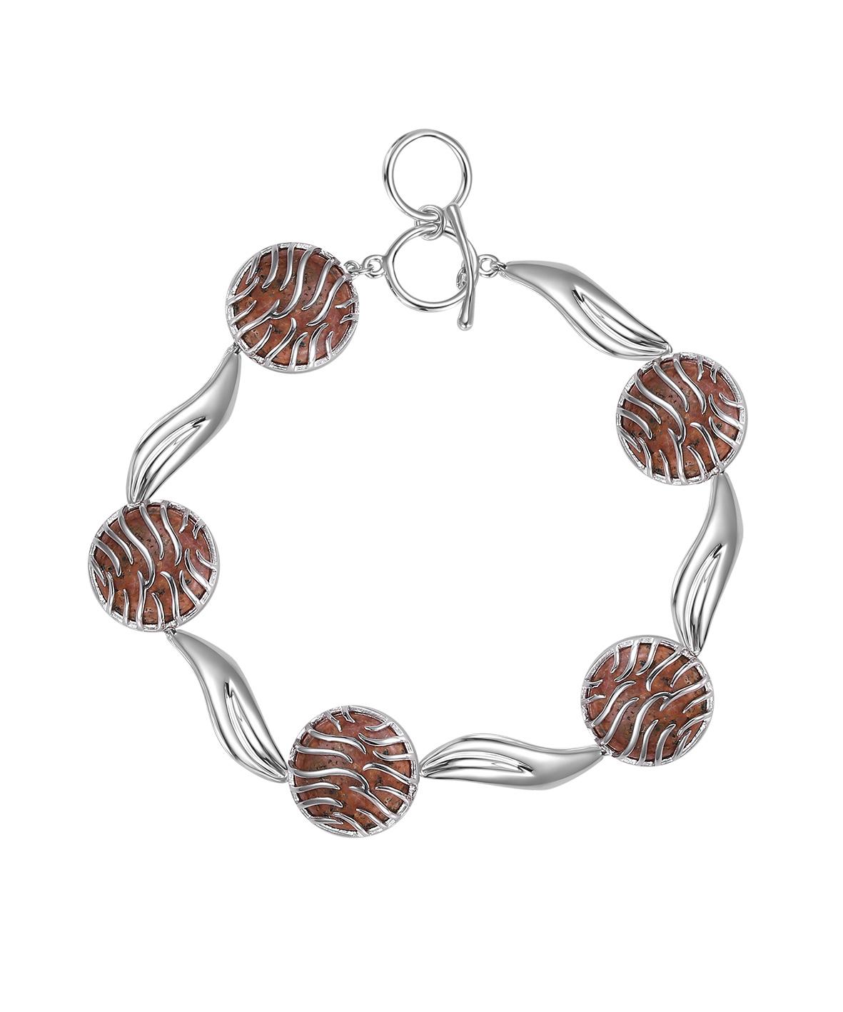 Jersey Granite Ocean Wave Bracelet