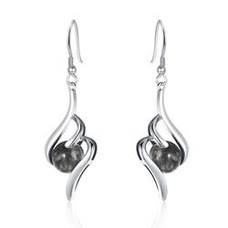 Swirl Drop Earrings