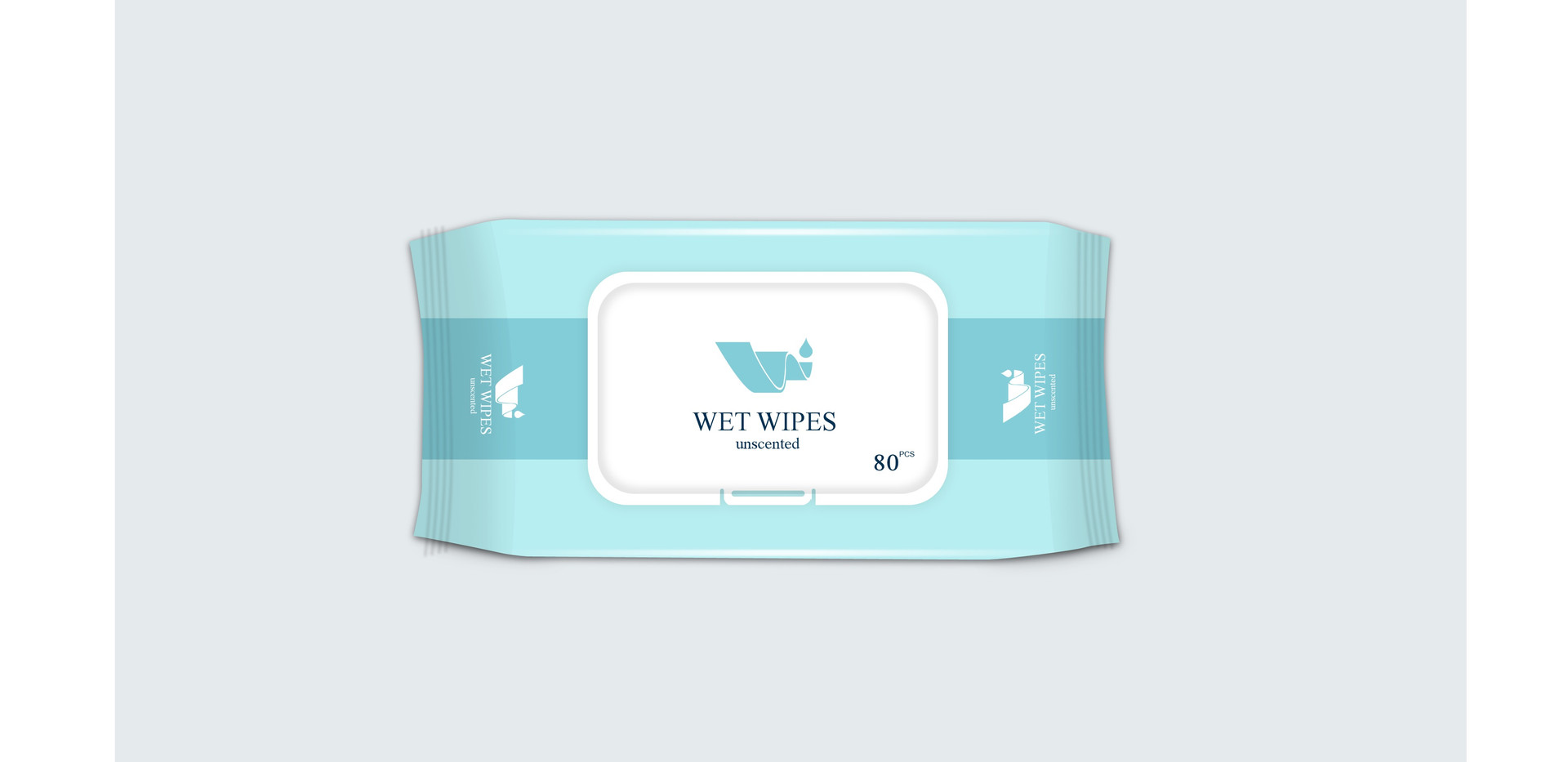 Suntan Unscented Wet Wipes