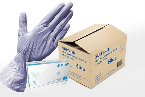 1000PCS Violet Vinyl Examination Glove