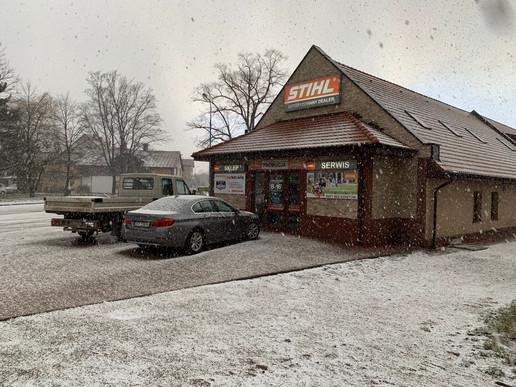 Pierwszy śnieg tej zimy