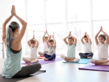 Kinderyoga Kurse im Yogalife Studio mitSabine Unrath