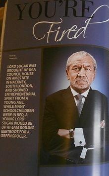 Lord Sugar Article