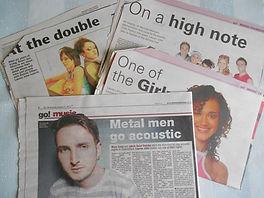 Music Journalism Press Cuttings