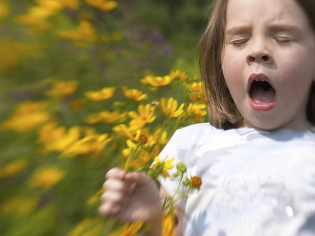 How Allergies Affect your Child's Ears, Nose, and Throat
