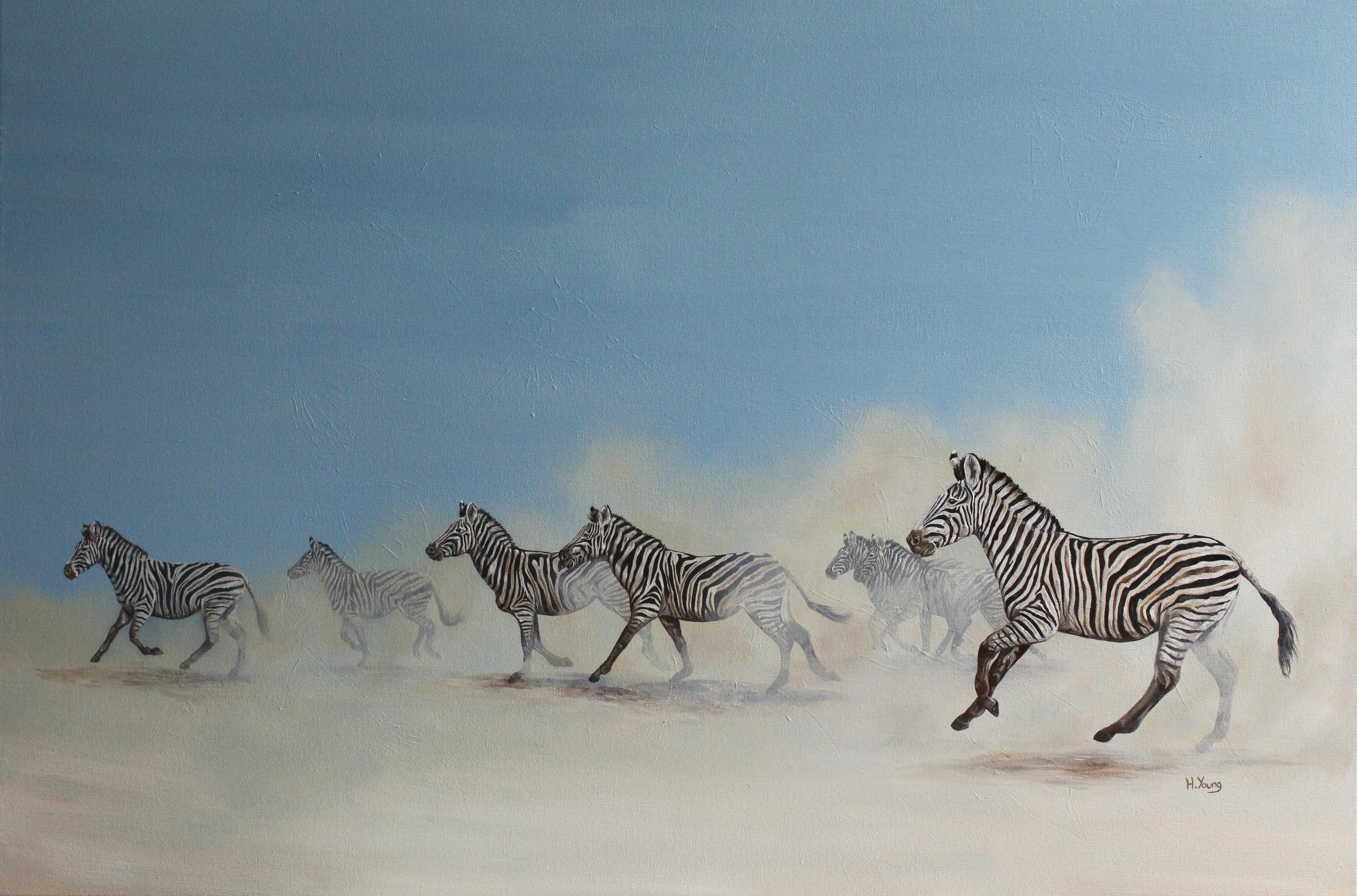 Zebras - Oils