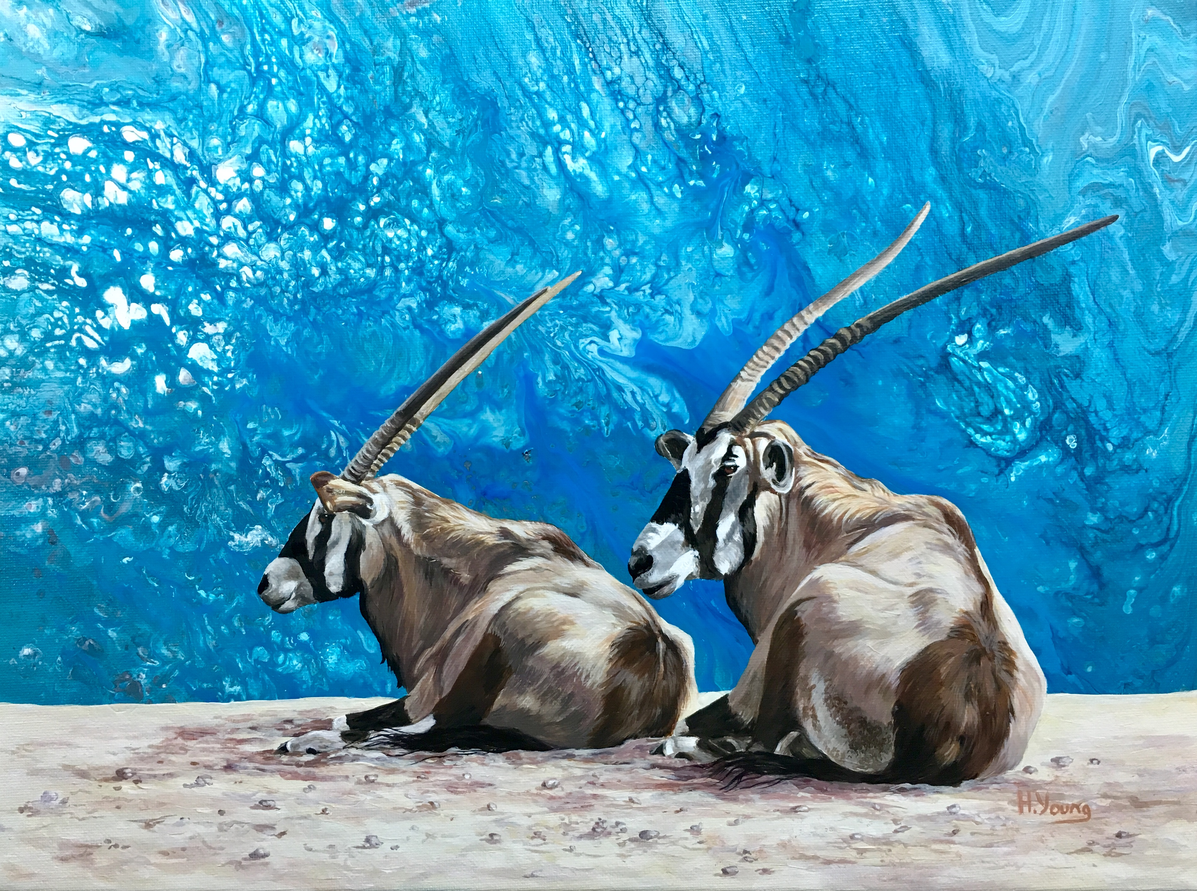 Oryx - Acrylics