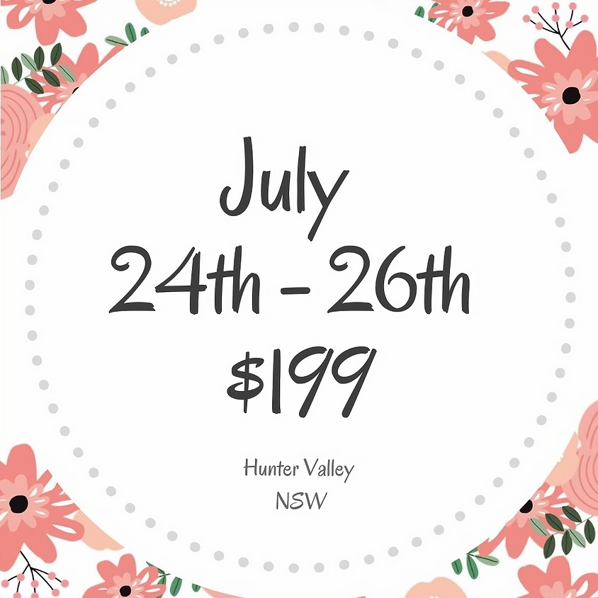 Makers Craft Retreat  $199  3 Days July 24th - 26th 2020