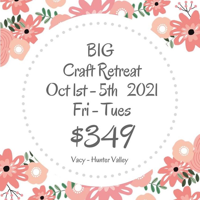Makers Craft Retreat  $349 - 5 Days Oct 1st - 5th 2021