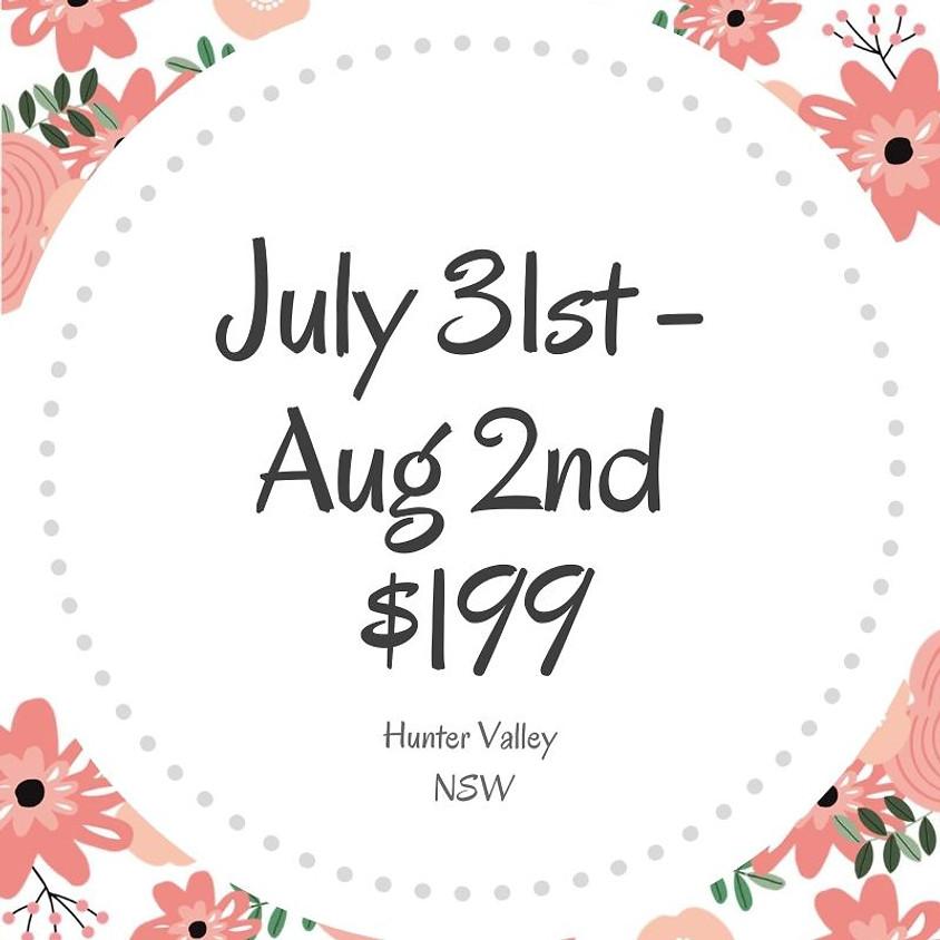 Makers Craft Retreat  $199  3 Days July 31st - Aug 2nd 2020